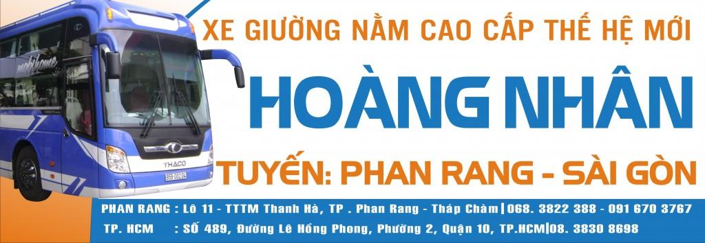 Khai trương Xe Giường nằm cao cấp Hoàng Nhân tuyến Phan Rang - Sài Gòn